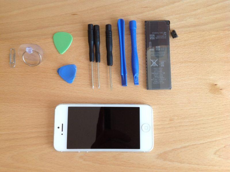 iphone 5 batterie wechseln