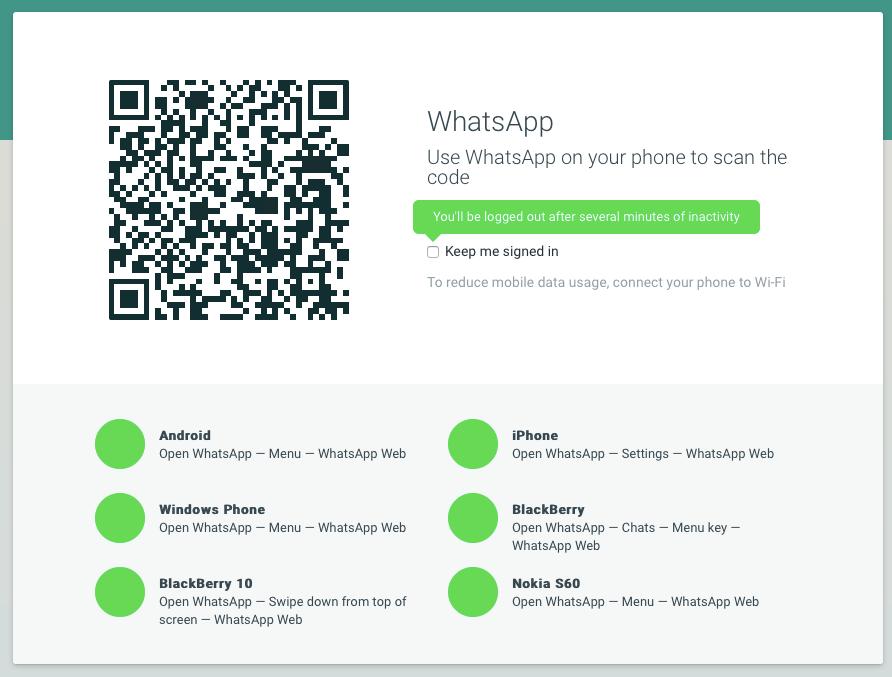 whatsapp für mac