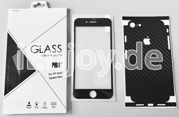 iPhone 7 Schutzglas Schutzfolie Schutzhülle