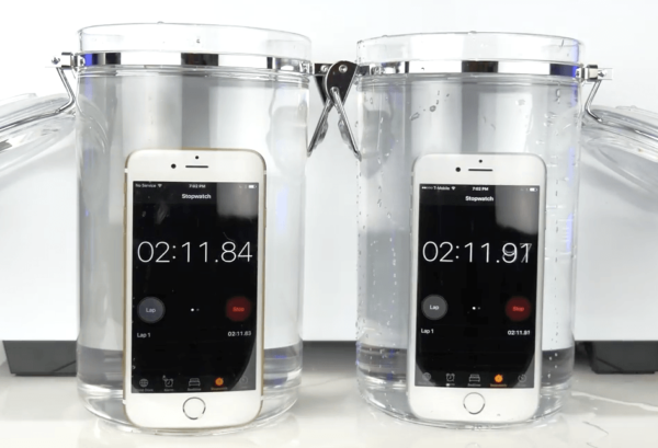 iphone 7 wasser test