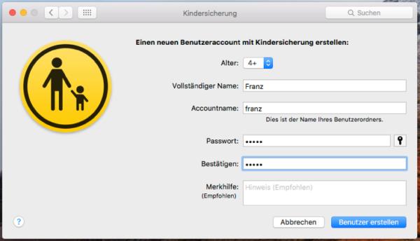 webpages verbieten macbook