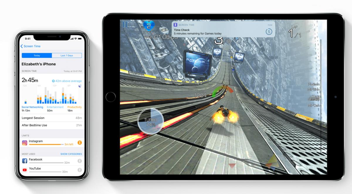 iOS 12 Bildschirmzeit Kindersicherung