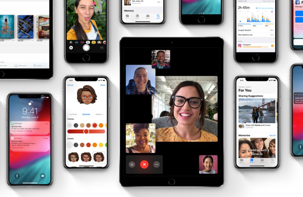 FaceTime-Gruppenanruf