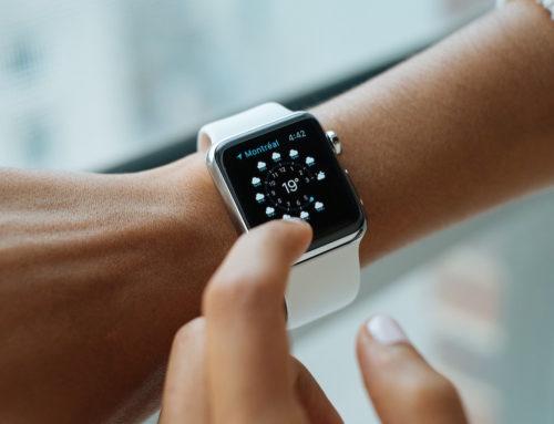 Wie ändere ich die Ausrichtung der Apple Watch?