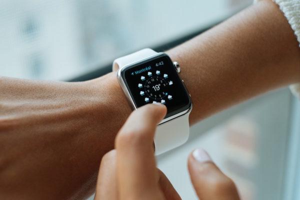 apple watch Ausrichtung rechte hand