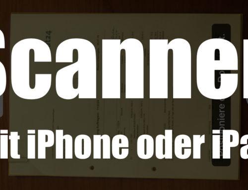 So scannen Sie Dokumente mit dem iPhone/iPad, wenn Sie keinen Drucker haben.