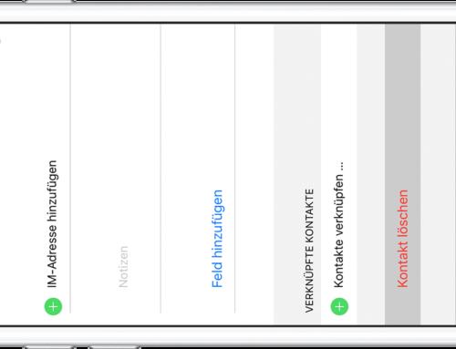 So löschen Sie Kontakte in iOS (iPhone oder iPad)