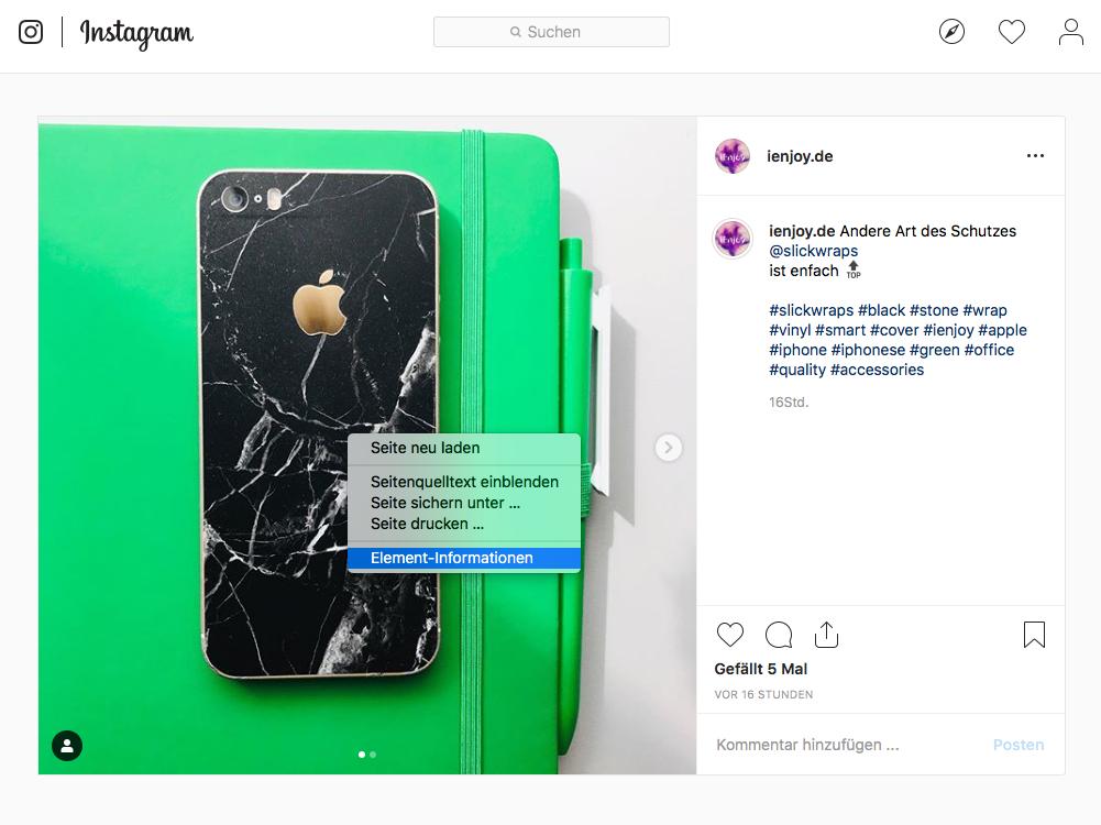 Instagram Bilder Speichern Videos Herunterladen