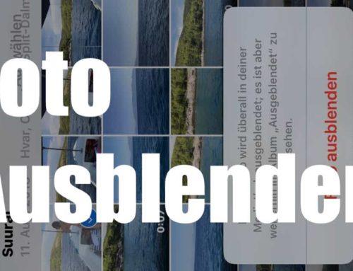 So verbergen Sie Fotos und Videos aus Ihrer Galerie auf dem iPhone