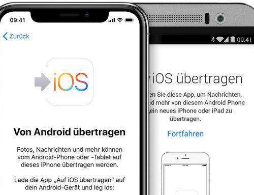 So wechseln Sie von Android zu iOS