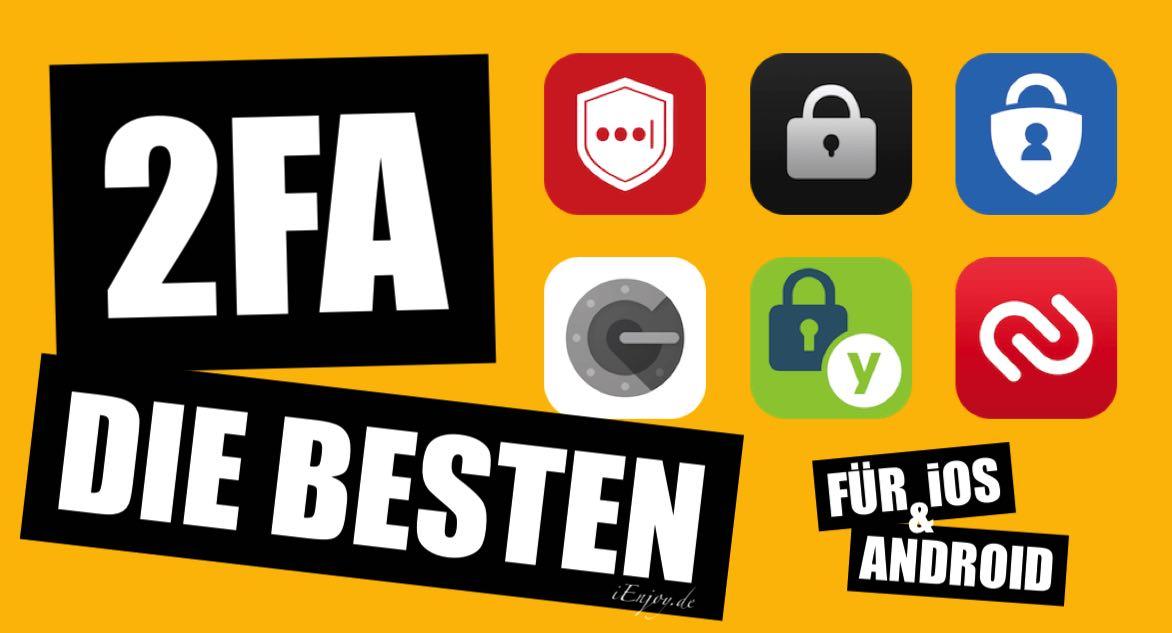 Die besten 2FA-Apps