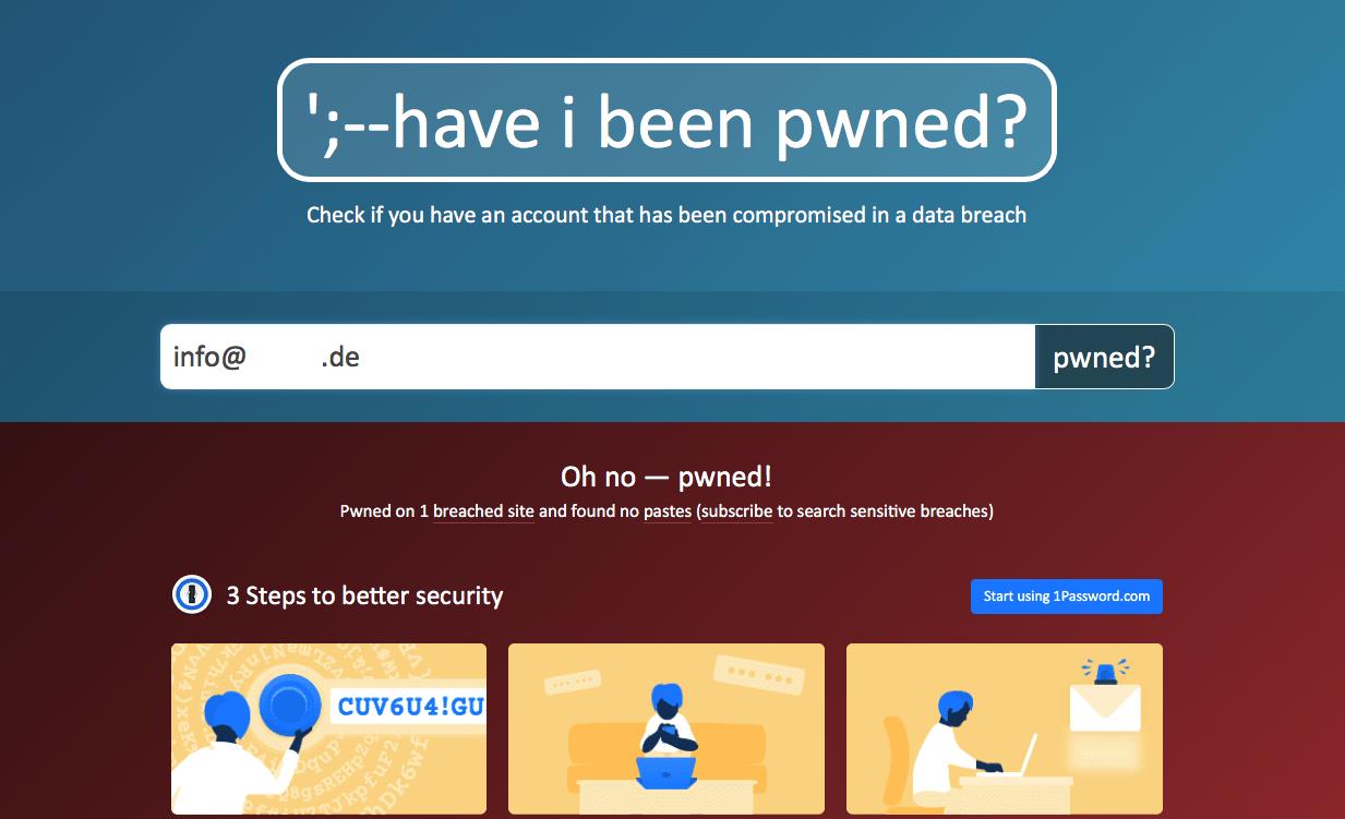E-Mail-Konto gehackt