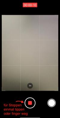 iPhone Video mit Musik im Hintergrund
