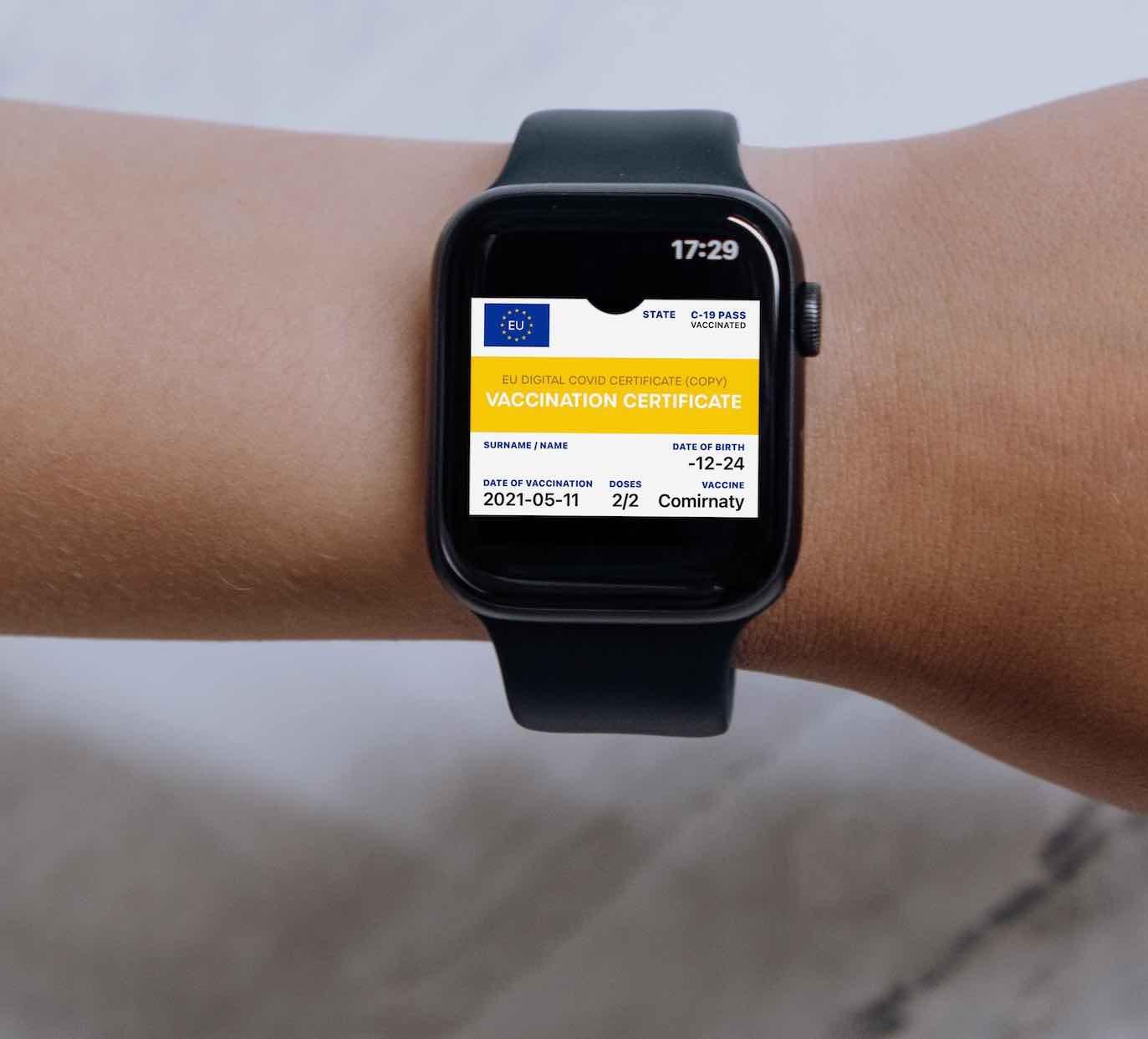 Covid Zertifikat - Apple Watch